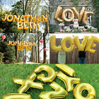 Foil Letters Balloons New Year Birthday party Wedding Decoration love Ballon