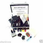 Professional Tattoo Kit with 1 Machine (Gun) Power Supply set, Ink, Needles