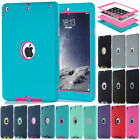 Shockproof Hybrid Heavy Duty Soft Rubber Hard Case Cover For iPad mini 2/3/4 Air