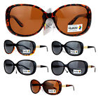 VG Eyewear Polarized Butterfly Designer Fashion Diva Jewel Temple Sunglasses