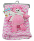Baby Fleece Blanket Cot Pram Travel babies teddy toy comfort machine wash 30°