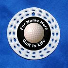 Golf is Life Sports CUSTOM Personalized Porcelain Gift 3 Formats Player Golfer