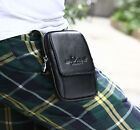 New Men Leather Hip Belt Pouch Purse Fanny Pack Cell Phone Case Cover  Waist Bag