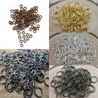 4mm 5mm 6mm 10mm 12mm  Jump Ring  Open Or Split Single Connectors Jewelry DIY