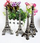 HOT!!  Bronze Tone Paris Eiffel Tower Sculpture Retro Model Home Decors 5-48cm