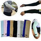 Kyпить 1 Pair Cooling Arm Sleeves Cover UV Sun Protection Outdoor Sports Unisex XERU на еВаy.соm