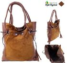 Custom Handmade Classic Designer Fashion Genuine Leather Ladies Handbag - Brown