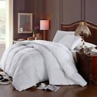 White Baffle Box Hungarian Down Alternative Comforter Ultra Soft Winter Weight image