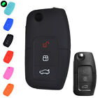 FOR FORD FIESTA FOCUS MK2 MONDEO KUGA S-MAX GALAXY SILICONE KEY COVER CASE FOB