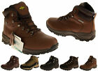 Mens Leather NORTHWEST TERRITORY Waterproof Shoes Hiking Walking Ankle Boots