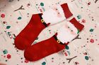 Independent packing female Christmas stocking cotton stockings winter socks