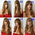 BROWN HIGHLIGHTED BLONDE Curly Layered Full Wig Ladies Fashion wigs #6H30/26