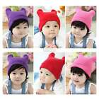 Cute Hat Baby Boy Girl Unisex Toddler Infant Cotton Knitted Fall Warm Beanie Cap