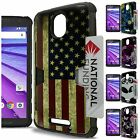 For Motorola Droid Turbo 2 / X Force / Bounce Case Hybrid Credit Card Hard Cover