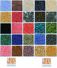 Jewelry Making Seed Beads Size 11/0 (Approx 2mm) 10g (Approx 800pcs)-25 Colours