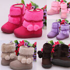 Comfort Warm Baby Kid Girls' Snow Boots Toddler Infant Winter Fur Faux Shoes