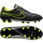 Nike Tiempo Genio Leather FG Men's Soccer Cleats Football Boot Shoes Black