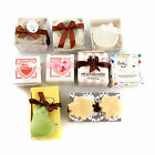 Creative Cute Gift Mini Scented Bath Soap Wedding Bridal Party Shower+Keychain