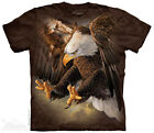 The Mountain FREEDOM EAGLE Adult Men T-Shirt S-2XL Short Sleeve