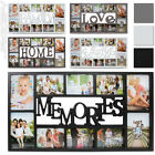 Modern Picture Frame for 10 Pictures Multi Photo Holder Home Decor Gallery