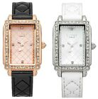 Lipsy London Rectangular Dial Leather Strap Ladies Watch