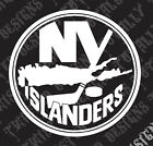 New York Islanders car truck vinyl decal sticker NHL Hockey NY $9.99 USD on eBay