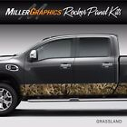 Camo Grassland Rocker Panel Graphic Decal Wrap Kit Truck Large 12 x 30 feet