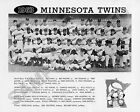 1963 MINNESOTA TWINS MLB BASEBALL 8X10 TEAM PHOTO