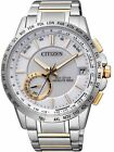 Citizen Eco-Drive Satellite Wave World F150 Time Sapphire Japan Watch CC3006-58A