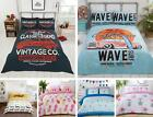 Pizza Quilt Duvet Cover & Pillowcase Bedding Bed Set Kids Teenagers Funky Gift