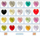 Swarovski Crystal Pendants 6202 & 6228 Heart 10x10.3mm *Regular Colours*