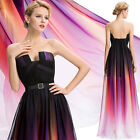 Long Chiffon Evening Formal Party Gown Bridesmaid Prom Wedding Cocktail Dresses