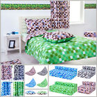 Children's Pixels Design Bedding Collection Kids Bedroom Makeover Mining Game