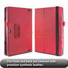 "Folio Stand Cover Case For ASUS Transformer Book T100HA 10.1"" Laptop+Film+Pen"