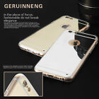 Luxury Silicone Ultra-thin Mirror Slim Case Cover For iPhone 6 6S / 6S Plus 6 +