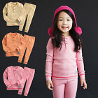 "Vaenait Baby Infant Toddler Kids Girls Clothes Pajama Set ""Girls Melange"" 12M-7T"