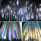 Meteor Shower Falling Lights Star Icicle Snowing Fall LED Xmas String Tube Lamps
