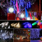 Meteor Shower Falling Lights Star Icicle Water Fall LED String Tube Party Decor