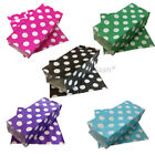 POPCORN PAPER BAGS CANDY POLKA DOTS SWEET GIFT PARTY SWEETS