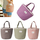 Women Thermal Insulated Lunch Box Tote Cooler Bag Bento Pouch Travel Container