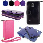 For Samsung Galaxy Note 4 SM-N910S PU Leather Wallet Purse Ladies Bag Pouch Case