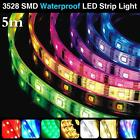 COLORFUL 5M RGB 3528 SMD 300 LEDS COOL/WARM WHITE WATERPROOF LED STRIP LIGHT