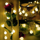 10M 100LED Christamas Berry Balls Globes Fairy String Lights Xmas Party Bulbs EU