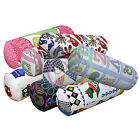 LL+8 Color High Quality Cotton Canvas Bolster Yoga Neck Roll Cushion Cover Size