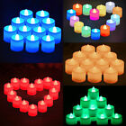 10PCS Flameless Flickering LED Tea Light Candles Battery Operated Tea Lights NEL