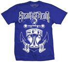 Men's Nautical Anchor by Alex Nunez Tattoo Artist Steadfast Brand Blue T-Shirt