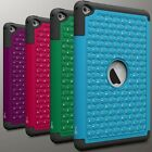Cute Protective Diamond Bling Hybrid Tablet Cover Case For Apple Ipad Mini 4