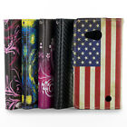 Wallet Pouch Design Flip Stand Phone Cover Case + Screen for Microsoft Lumia 550
