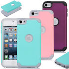 For Apple iPod Touch 6th 5th Gen Hybrid Impact Armor Rugged Hard Case Cover Skin