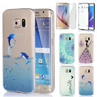 Colorful Slim Clear Transparent Soft Case Cover Skin For Samsung Galaxy S6 edge+